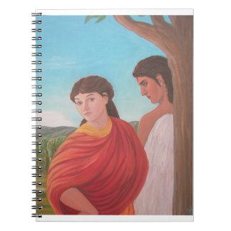 Venus and Eros notebook