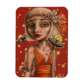 Venus and Fireflies Magnet