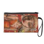 Venus and fireflies wristlet purse
