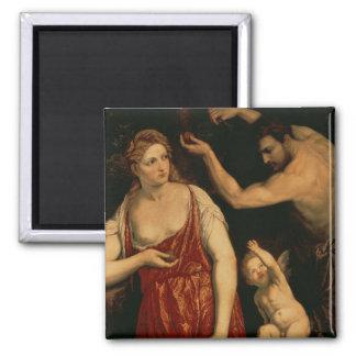Venus and Mars, 1550s 2 Inch Square Magnet