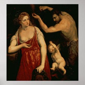 Venus and Mars, 1550s Poster