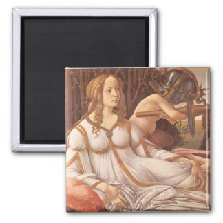 Venus and Mars 2 Inch Square Magnet