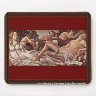 Venus And Mars By Botticelli Sandro Best Quality Mouse Pad