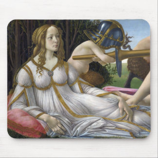 Venus and Mars by Sandro Botticelli Mouse Pad