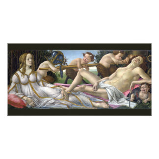 Venus and Mars by Sandro Botticelli Customized Photo Card