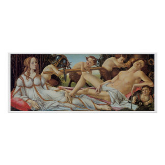 Venus and Mars by Sandro Botticelli Posters