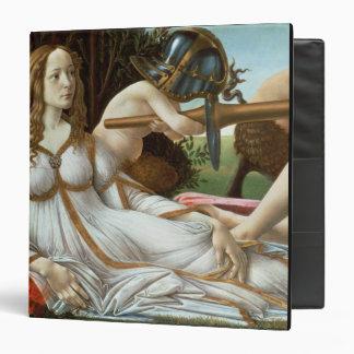 Venus and Mars, c.1485 (tempera and oil) 3 Ring Binder