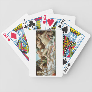 Venus and Mars, c.1485 (tempera and oil) Bicycle Playing Cards