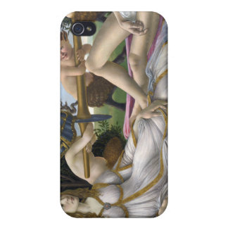 Venus and Mars, Sandro Botticelli iPhone 4/4S Cover