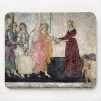Venus and the Graces Mouse Pad