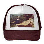 Venus And The Organ Player By Tizian Trucker Hats