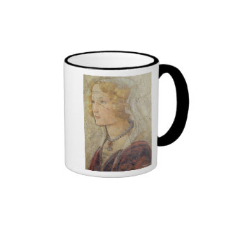 Venus and the Three Graces Offering Gifts to a Gir Ringer Mug