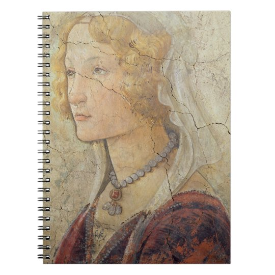 Venus and the Three Graces Offering Gifts to a Gir Spiral Notebook