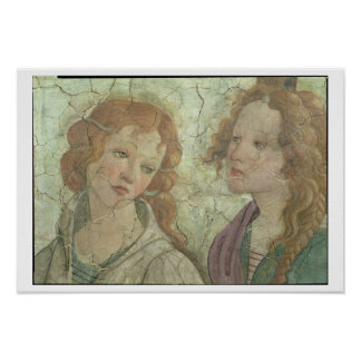 Venus and the three Graces Offering Gifts to a You Poster