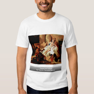 Venus And Vulcan By Tiepolo Giovanni Battista Tshirts