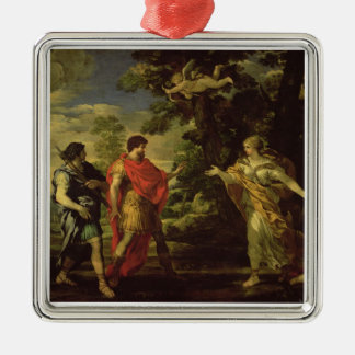Venus Appearing to Aeneas as a Huntress, c.1635 (o Metal Ornament