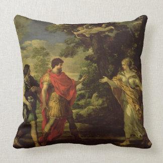 Venus Appearing to Aeneas as a Huntress, c.1635 (o Throw Pillows