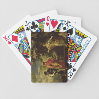 Venus Appearing to Aeneas as a Huntress, c.1635 (o Bicycle Card Deck