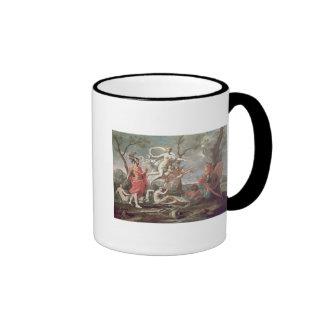 Venus Arming Aeneas, 1639 Ringer Coffee Mug