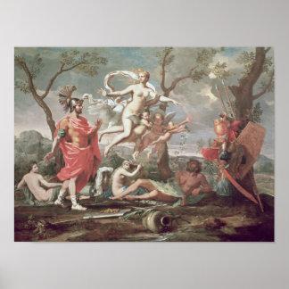 Venus Arming Aeneas, 1639 Poster