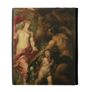 Venus asking Vulcan for the Armour of Aeneas (oil iPad Folio Cover