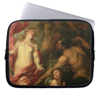 Venus asking Vulcan for the Armour of Aeneas (oil Laptop Sleeve