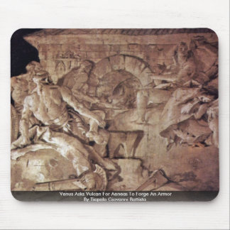Venus Asks Vulcan For Aeneas To Forge An Armor Mouse Pad