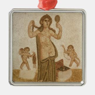 Venus at her Toilet Metal Ornament