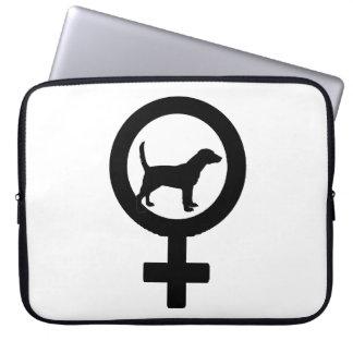 Venus Beagle Laptop Sleeve