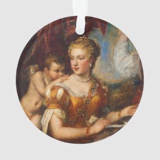 Venus Blindfolding Cupid Acrylic Ornament