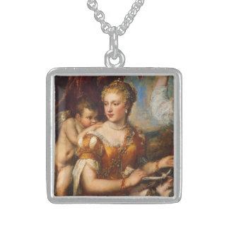 Venus Blindfolding Cupid Pendants