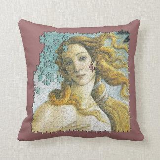 Venus Botticelli jigsaw puzzle Pillows