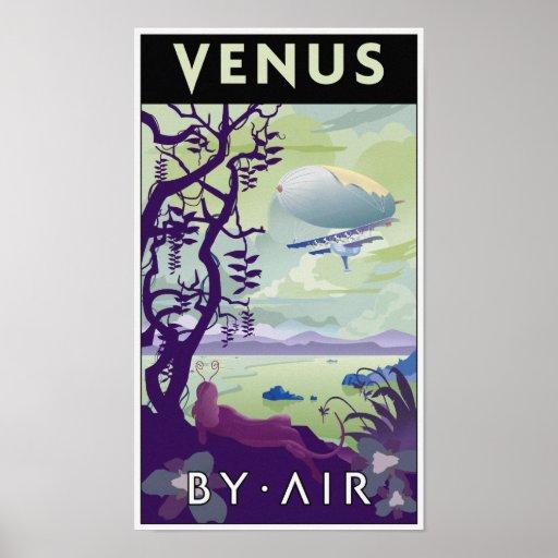Venus by Air Poster