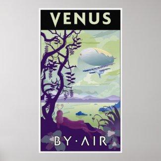 Venus by Air Posters