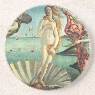Venus by Botticelli Sandstone Coaster coaster