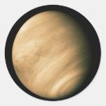 VENUS by Mariner 10 NASA flyby photo Classic Round Sticker
