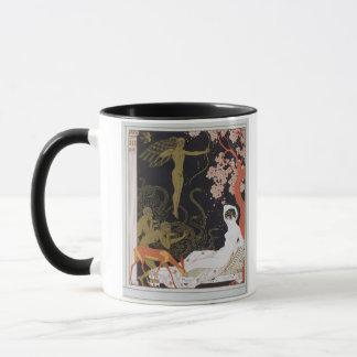 Venus (colour litho) mug