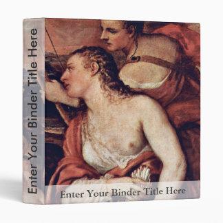 Venus combina los ojos de Amor por Tizian