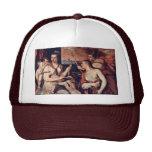 Venus combina los ojos de Amor por Tizian Gorra