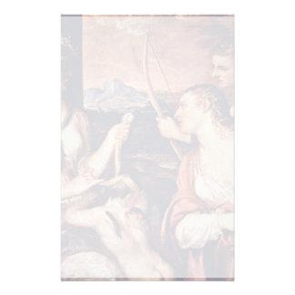 Venus Combines Amor Eyes By Tizian Stationery