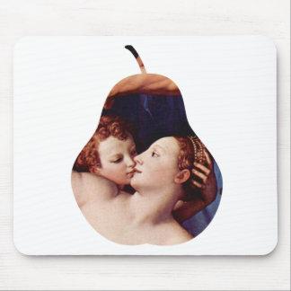 Venus Cupid Folly Time by Bronzino Mousepad