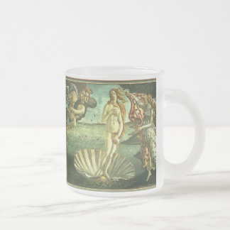 Venus de Mer Frosted Glass Coffee Mug