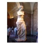 Venus de Milo en el Louvre París Francia David lun Postales
