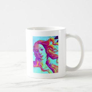 venus del arco iris taza de café