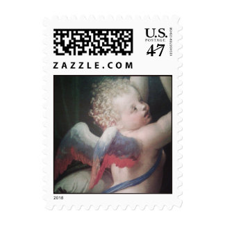 Venus Disarming Cupid, detail of Cupid - Stamp