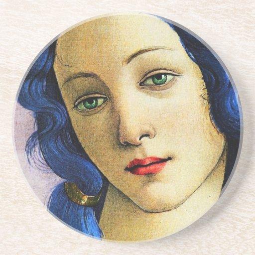 Venus en azul posavasos para bebidas