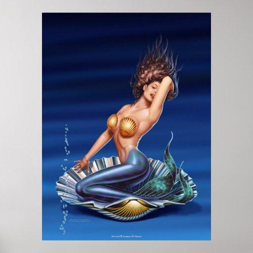 """""""Venus está detrás"""" arte de la lona Poster"""