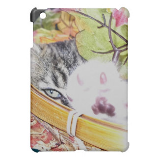 Venus' Evil Eye Look, Kitty Cat Kitten w/ Paw Up iPad Mini Cases