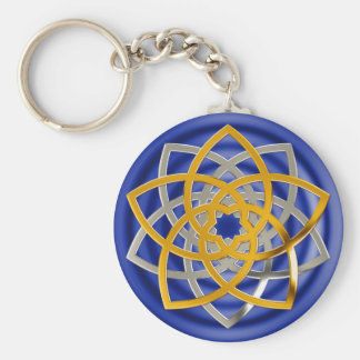 Venus flower duo gold Silver | spot royal Keychain