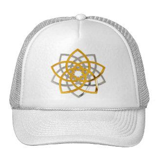 Venus flower duo gold Silver Trucker Hat
